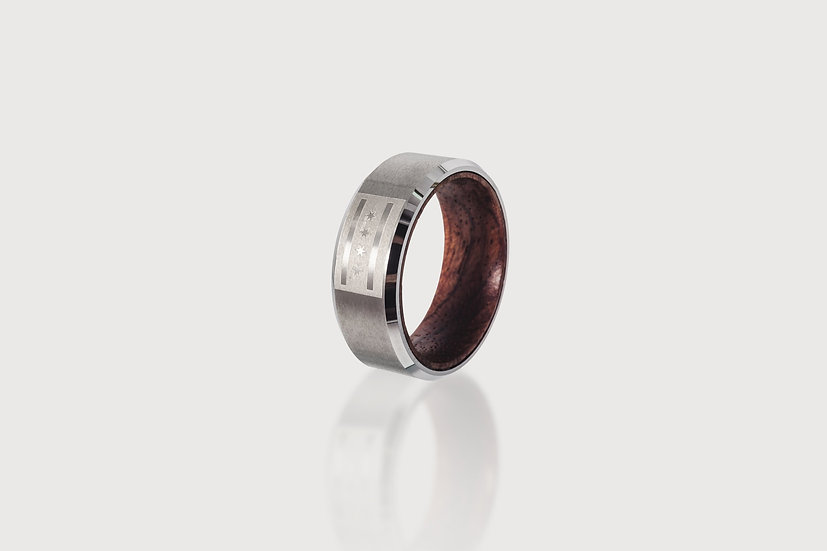 CHI TOWN Wooden Ring