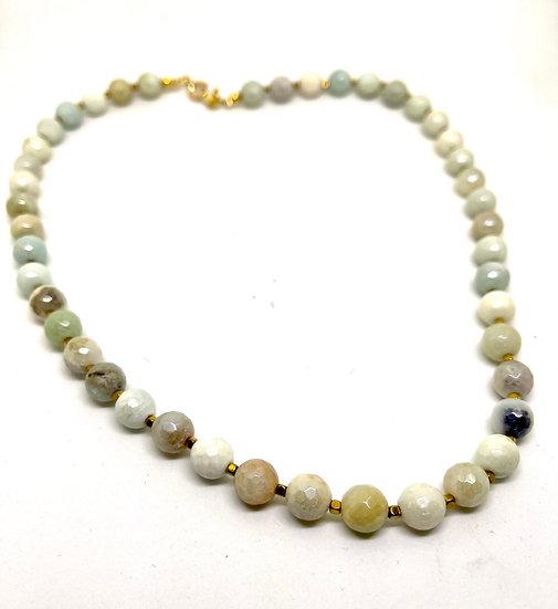 Gemstone Necklace,  amazonite necklace