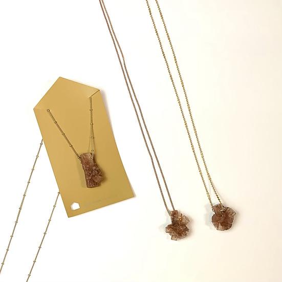 Gemstone Necklace, Aragonite necklace