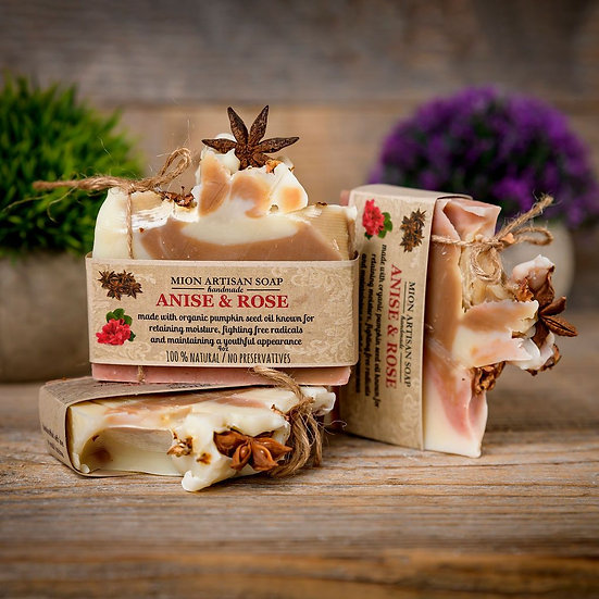 Anise & Rose soap