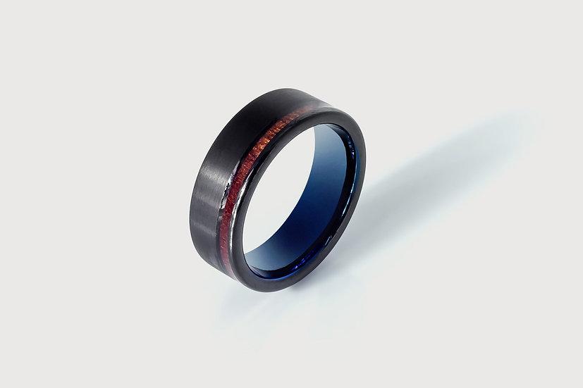 Black Balloon Wooden Ring