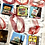 Thumbnail: Chicago themed glass ornaments