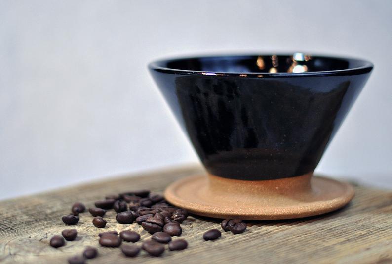 Ceramic Mugs & Coffee Pour-over