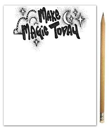 Make Magic Notepad