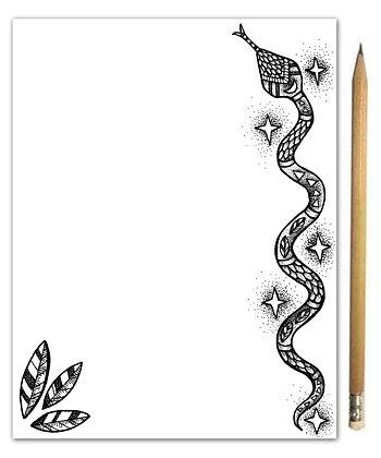 Snake Notepad
