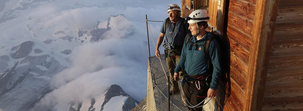Mountain climbers photography