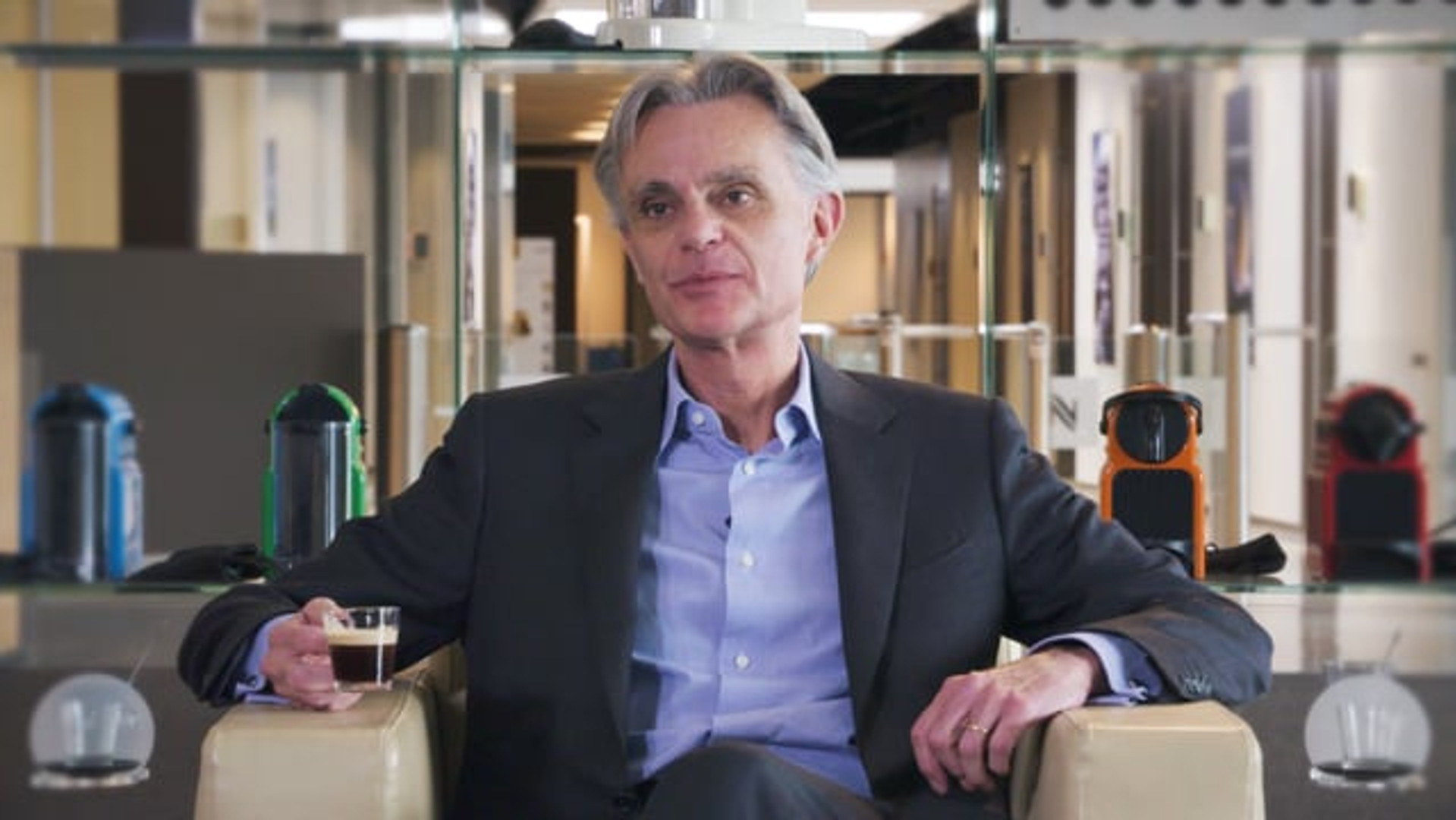 Interview with Nespresso CEO