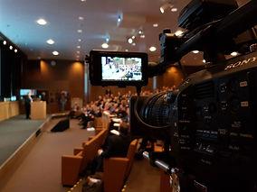 caméra filme événement