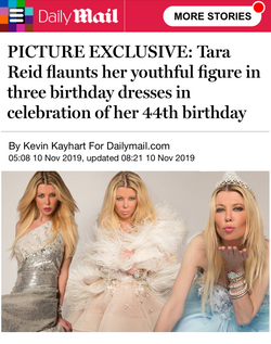TARA REID for Daily Mail