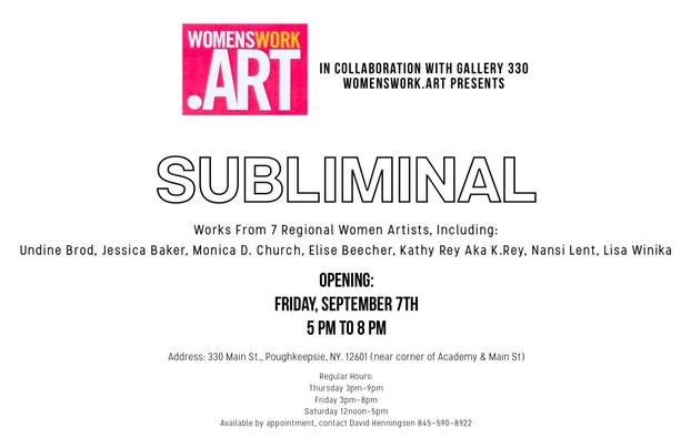 Subliminal Art Show