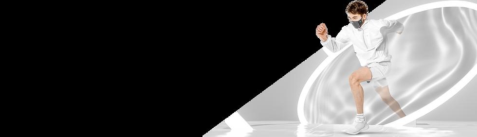 NAROO N0U - Barbijo o tapabocas deportivo para correr en climas cálidos con función de protección UV