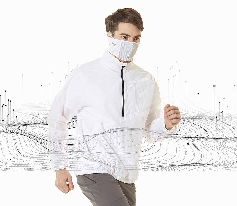 Barbijos deportivos filtrantes de Naroo Mask que protegen la respiración
