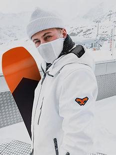 NAROO F1S - Mascarilla para hacer deportes de invierno como snowboard para invierno con fu