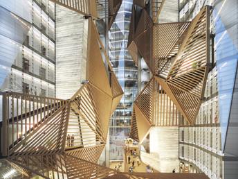 Setembre 2020, comencen les obres de construccio de Tembo Suites Port Forum Barcelona.