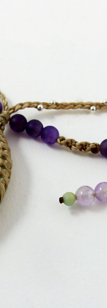 Amazonite and Amethyst