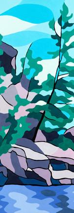 Bent Rock Pine