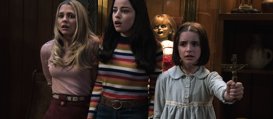 Ceris' 31 Days of Horror Challenge: Day 18 - Annabelle Comes Home