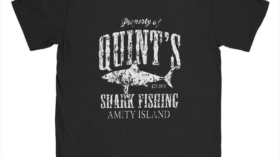 Quint's Shark Fishing Men's T-Shirt