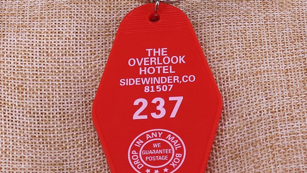 Overlook Hotel Room 237 Keychain