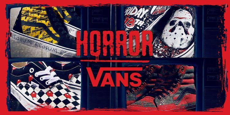 Vans Launch Horror Collection