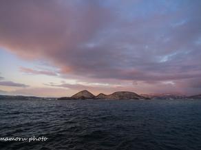 冬の洞爺湖Lake Toya in winter.