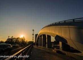 夏の夕暮れ Summer dusk.