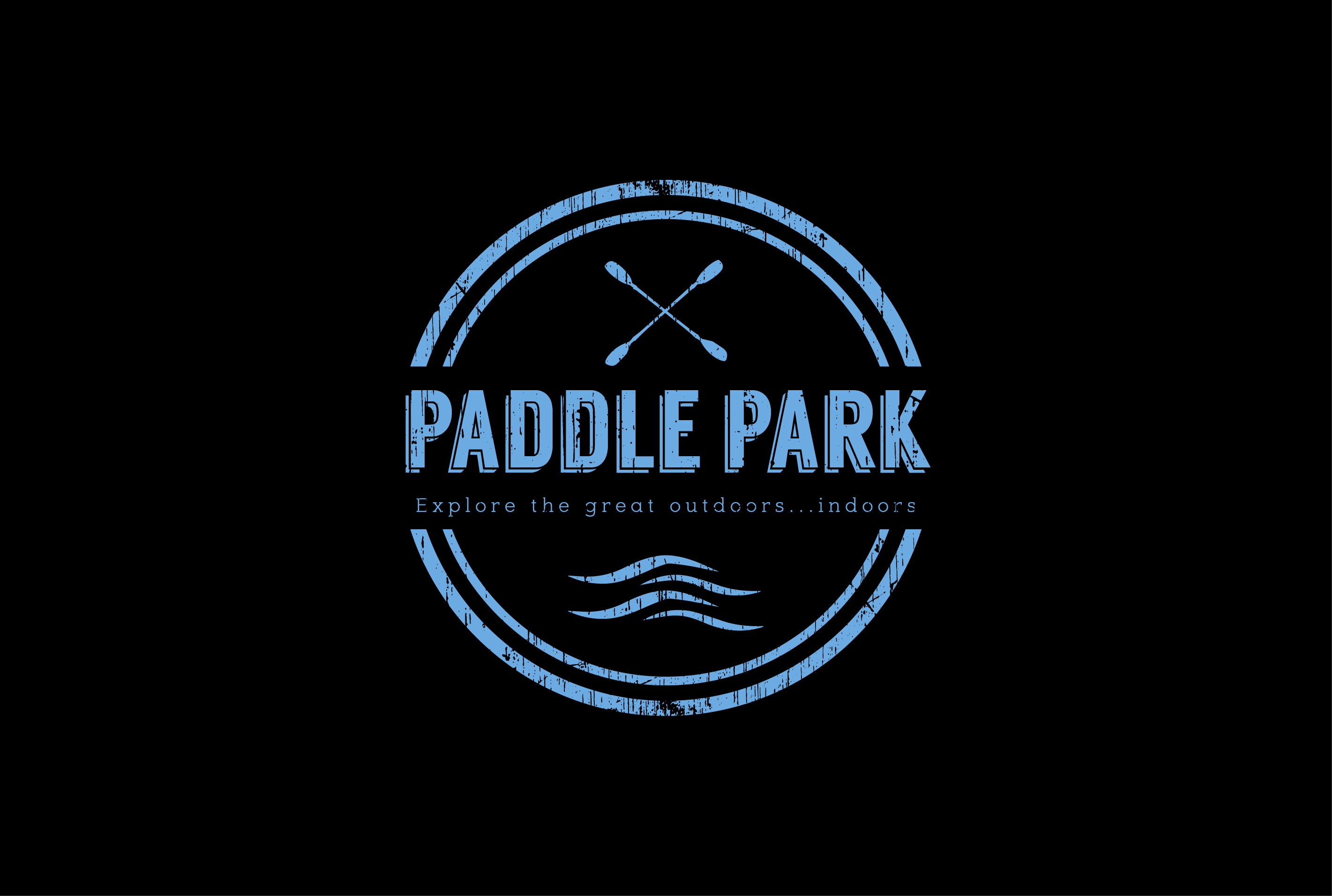 Paddle Park logo on black