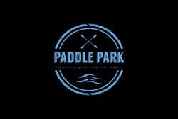 Paddle Park logo on black