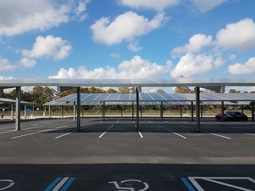 parking lot with solar panel carports.jp