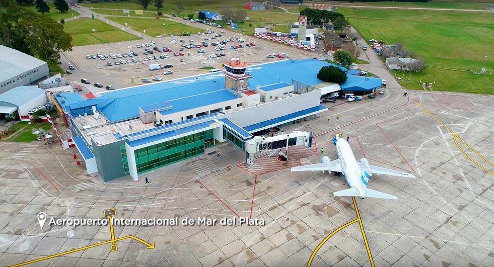 Nuevo aeropuerto de Mar Del Plata