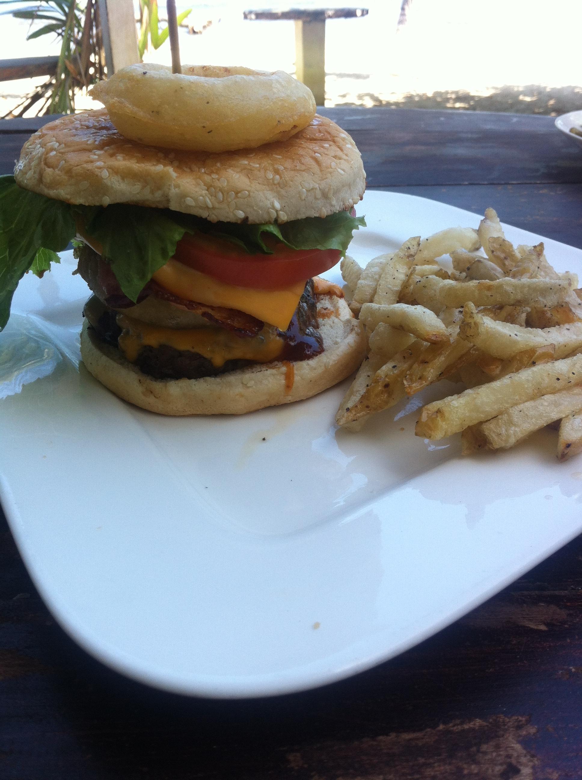 Barbecue Bacon Cheeseburger