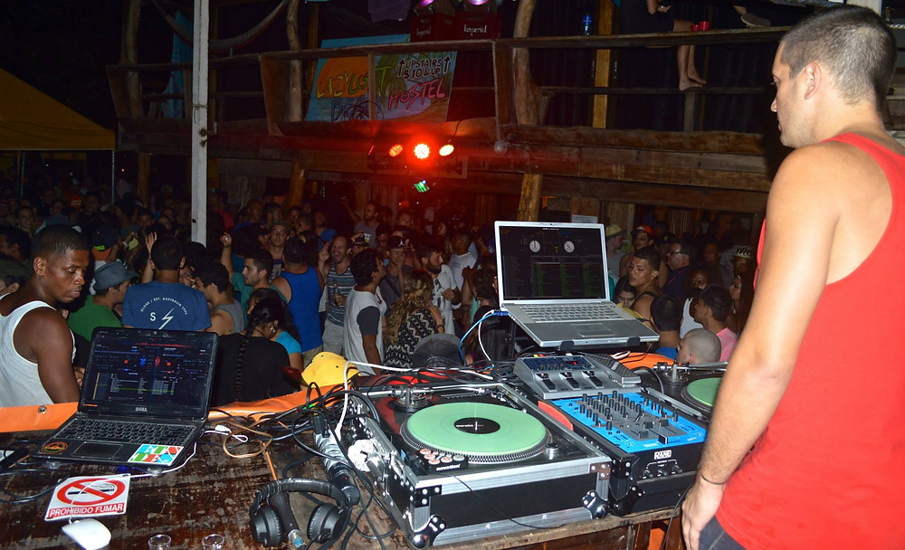 DJ OBD hosting Puerto Viejo Nightlife Party