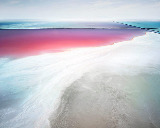 David Burdeny | Saltern Study 19, Great Salt Lakes, UT | Ed. 3/7