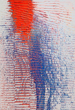 Koen Delaere | Untitled (Orange and Blue)