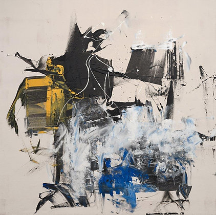 Gordon Douglas Ball | Untitled (Yellow Blue)