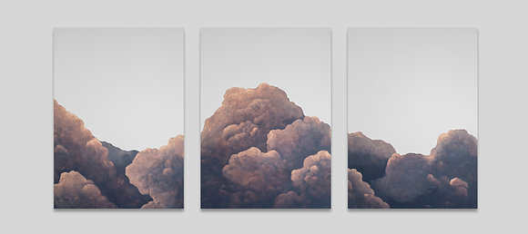 Liv Dockerty | For You the Sun will be Shining (triptych)