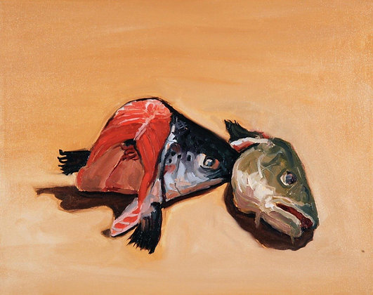 Mark Pacheco | Salmon and Cod Heads