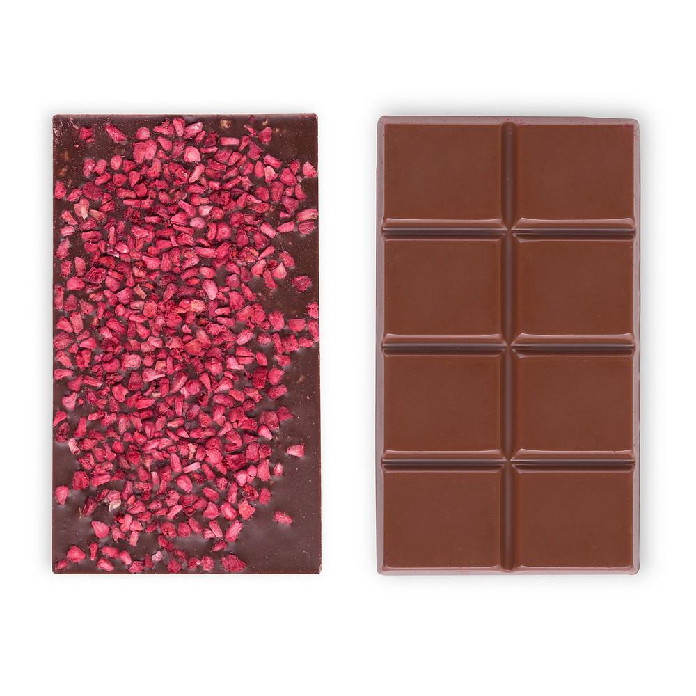 """lalabite שוקולד טבעוני בטעם """"חלב"""" ופטל"""