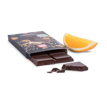 Lalabite  שוקולד מריר מעולה בטעם תפוז מתאים ל-7 אלרגיות מזון וטבעוני