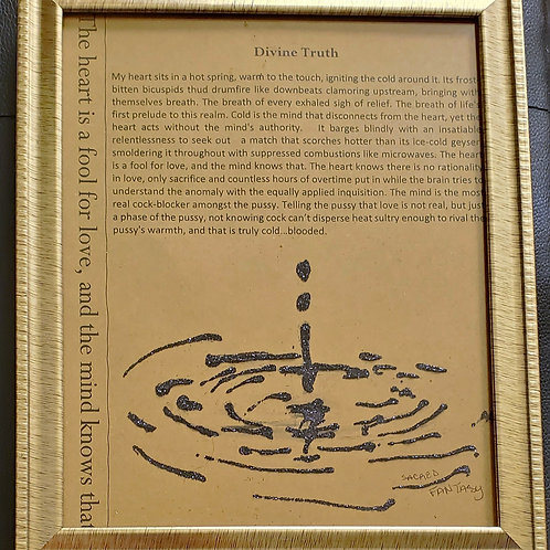 Divine Truth Framed Poetry from Poetry Book Blessings in Disguise