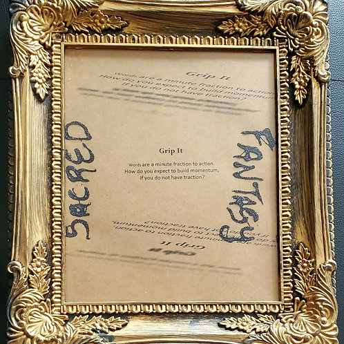 Grip It Framed Poetry from Poetry Book Blessings in Disguise