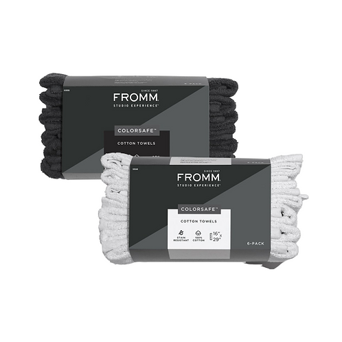 Fromm Colorsafe Cotton Towels 6 pack