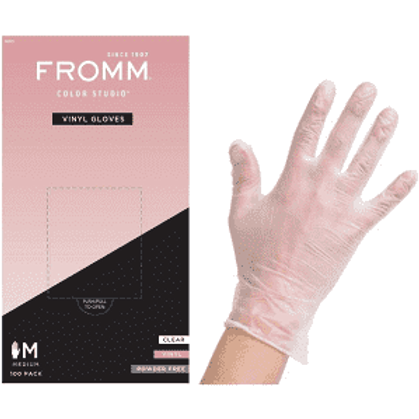 FROMM Clear Gloves 100 count
