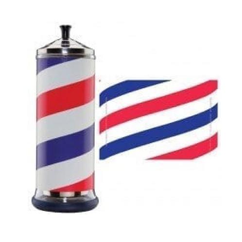 Barbicide Jar Barber Wrap