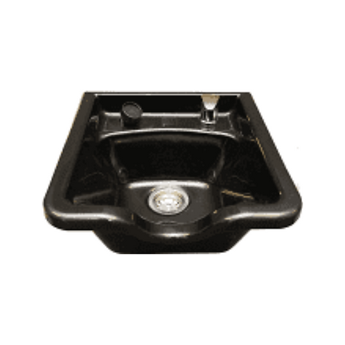Black Acrylic Shampoo Bowl