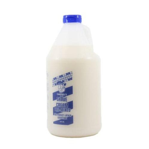 Campbell's Liquid Shave Cream Gallon