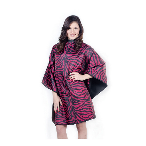Flip Zebra Reversible Cape Pink/Black