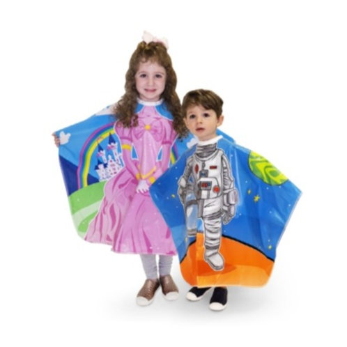 2pk Princess & Astronaut Kids Capes