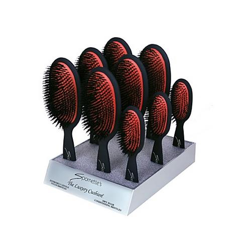 Spornette Luxury Cushion Brush Display