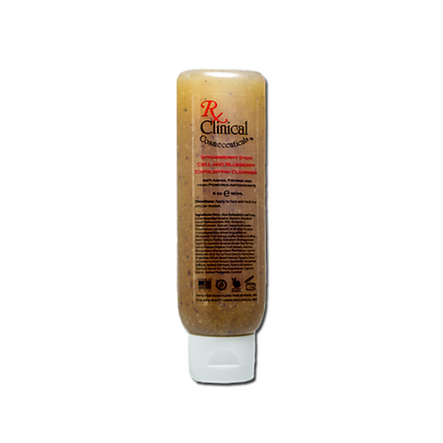 RX 30 Clinical Strawberry Stem Cell Exfoliating Cleanser
